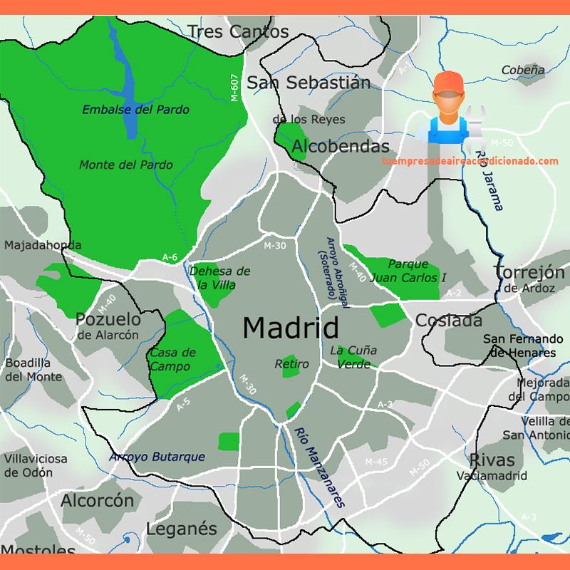 Poceros en Madrid